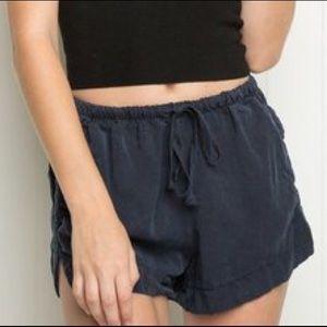 Brandy Melville Black eve shorts